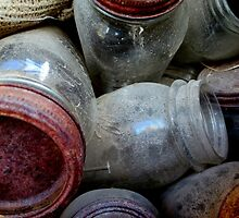Old Ball Jars by Diane Arndt