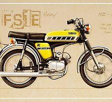 Yamaha FS 50 by Tony  Newland