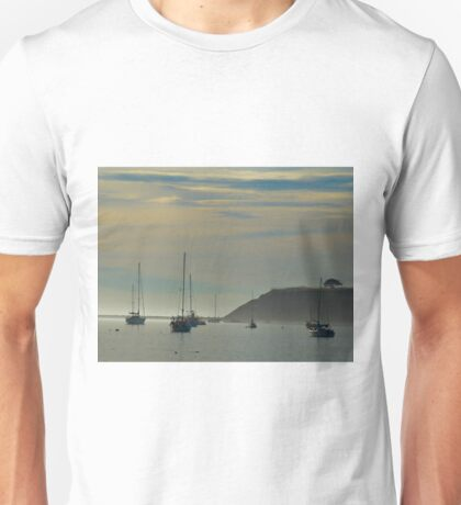 Resting Sailboats in Still Waters Unisex T-Shirt