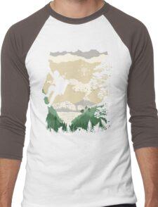 Breath of Adventure Men's Baseball ¾ T-Shirt