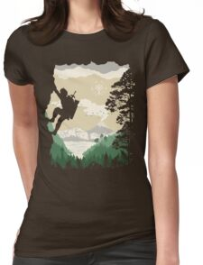 Breath of Adventure Womens Fitted T-Shirt