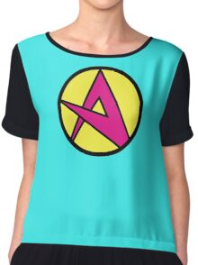Emperor Awesome's A - Wander Over Yonder Chiffon Top