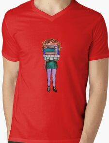 After the Bookstore Mens V-Neck T-Shirt