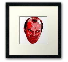 Trevor Head Framed Print