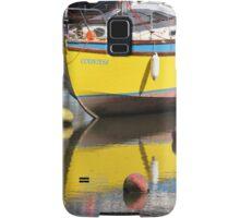 Yellow Boat Samsung Galaxy Case/Skin
