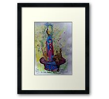 The Water Goddess Framed Print