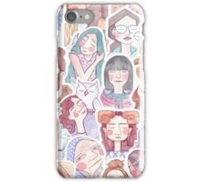 Colorful Crowd iPhone Case/Skin