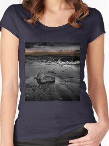 Sand Bay #2 Women's Fitted Scoop T-Shirt