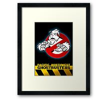 PNW: Ghostbusters Poster Framed Print