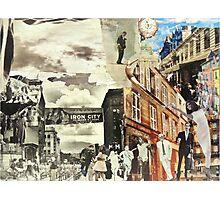 The Past & Future City Photographic Print