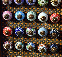 Knobs to brighten your kitchen. by FandDImages