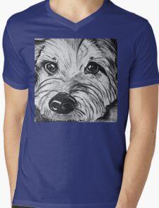Camo Mens V-Neck T-Shirt