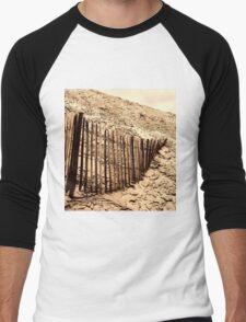 Fence - Dune of Pilat Men's Baseball ¾ T-Shirt