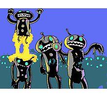 zombie robots Photographic Print