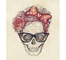 Hipster Girl is Dead Photographic Print