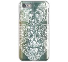 White Heart in Winter Sunset iPhone Case/Skin