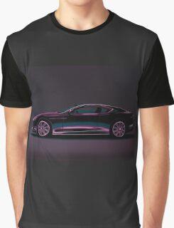 Aston Martin DBS V12 Painting Graphic T-Shirt