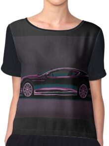 Aston Martin DBS V12 Painting Chiffon Top
