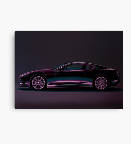 Aston Martin DBS V12 Painting Canvas Print