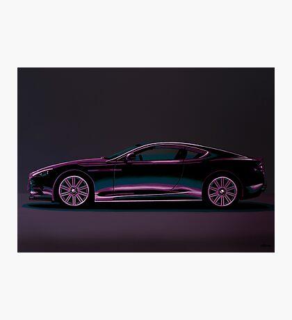 Aston Martin DBS V12 Painting Photographic Print