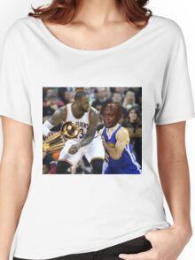 Lebron Robs Steph 2 Women's Relaxed Fit T-Shirt