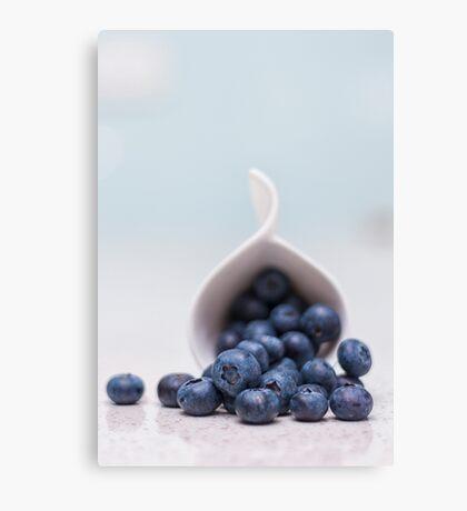 still life ~ blueberries Canvas Print