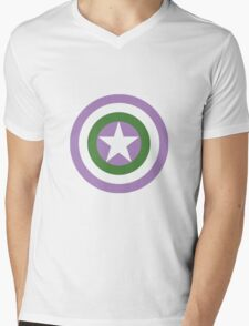 Captain Genderqueer Mens V-Neck T-Shirt