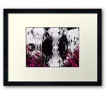 Horror story. Framed Print