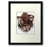 lastly Framed Print