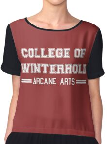 College of Arcane Arts Chiffon Top