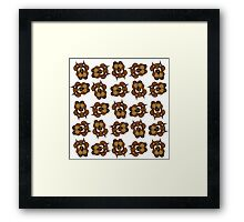 Space Dogs Framed Print