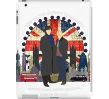 Eliminate the Impossible (White Text) iPad Case/Skin