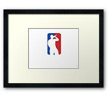 Rap NBA Framed Print