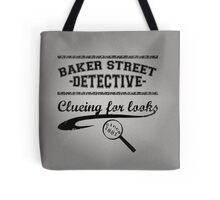 Baker Street Detective (Black) Tote Bag