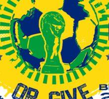 BRASIL WORLD CUP 2014 Sticker