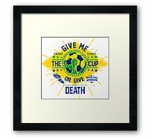 BRASIL WORLD CUP 2014 Framed Print