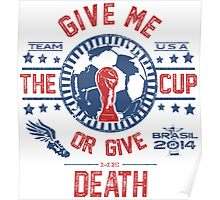 BRASIL WORLD CUP 2014 TEAM USA Poster