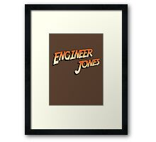 Engineer Jones Framed Print
