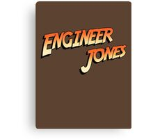 Engineer Jones Canvas Print