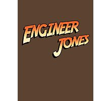 Engineer Jones Photographic Print