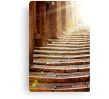 Stairs To Light Canvas Print