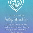 Radiating Heart by CarlyMarie