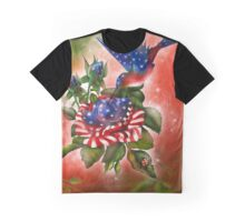 Star Spangled Hummer Graphic T-Shirt