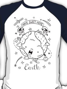 Planet Earth and the Empire Penguins T-Shirt