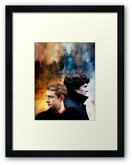 Holmes & Watson by Ambear92