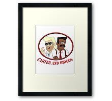 Carter and Briggs Framed Print