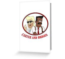 Carter and Briggs Greeting Card
