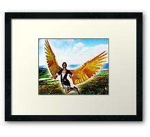 Angel of Clare in Flight Framed Print