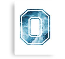 Block O Ocean Canvas Print