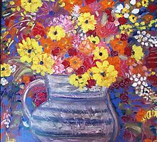 """A Jug of Flowers"" by catherine walker"